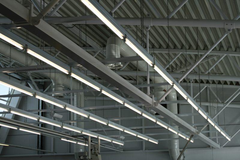 Elektroinstallation in Halle von Aufinger Elektrotechnik